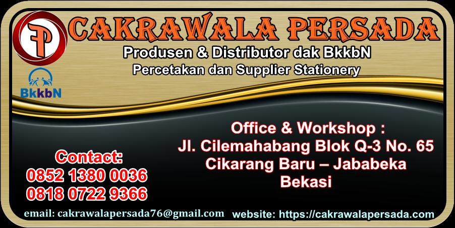 PRODUK Untuk Dak BKKBN 2019 Berkualitas – CV. Cakrawala Persada