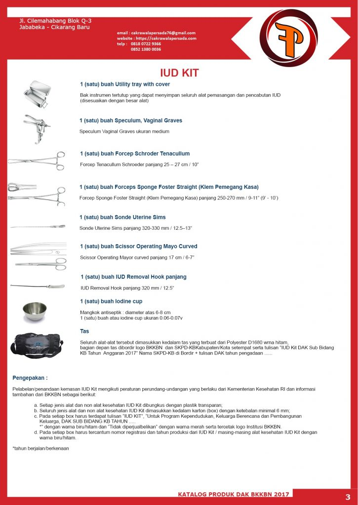 IUD kit 2017