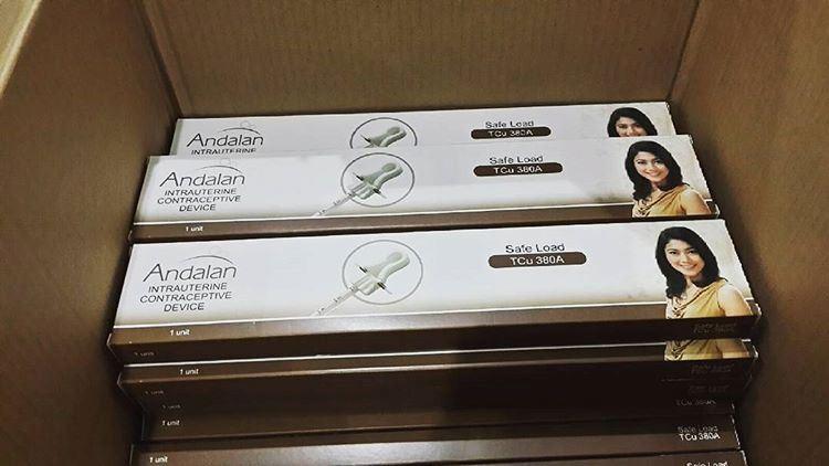 IUD Andalan TCU 380 A Safe Load